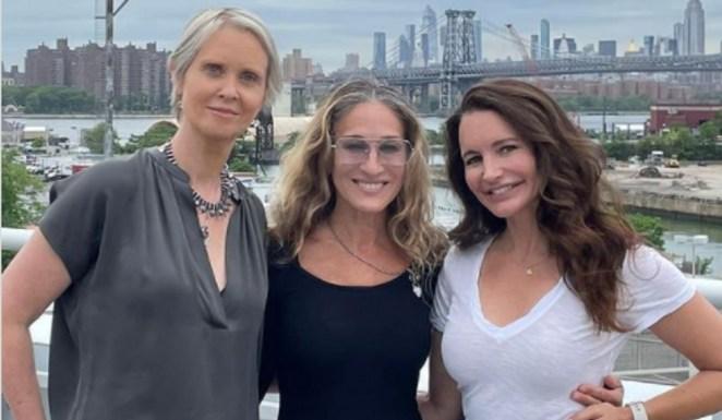 Carrie et ses copines de Sex and the City à nouveau réunies à New York
