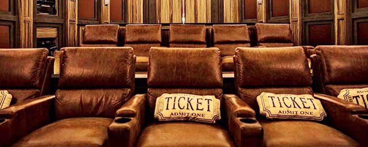 Home Theater Seating  Chairs Recliners Sectionals