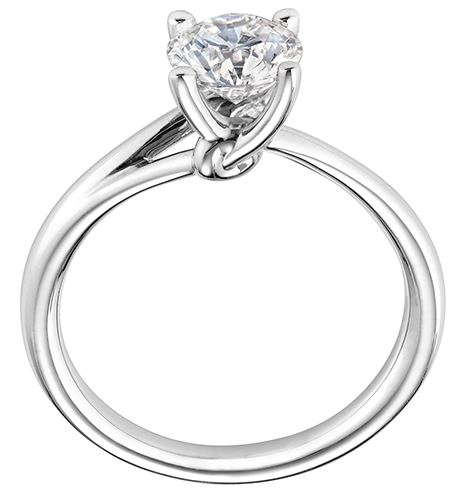 Lazare Simply Lazare Engagement Ring R686 Available at BARONS Jewelers in Dublin, California.