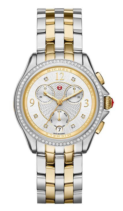 Michele M Belmore Chrono Diamond Available at Trice Jewelers