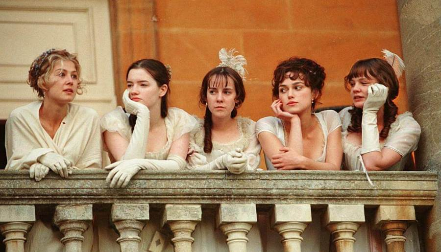 Bennet Sisters from Pride and Prejudice