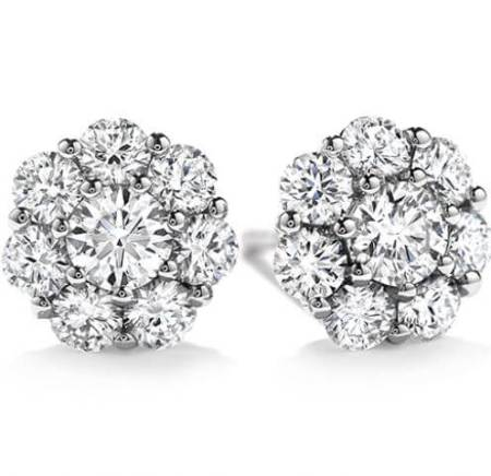 Hearts on Fire Beloved Stud Earrings Available at GMG Jewellers Saskatoon, Saskatchewan
