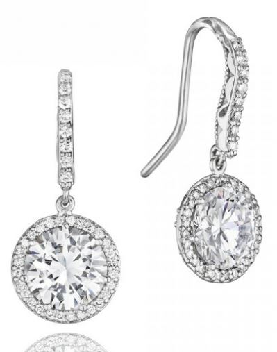 Tacori Drop Earrings Available at GMG Jewellers in Saskatoon, Saskatchewan