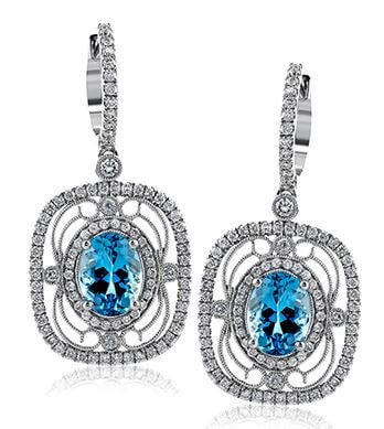 Simon G Vintage Explorer Earrings Available at BARONS Jewelers