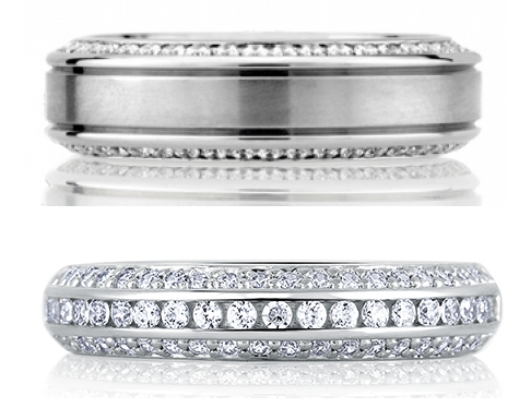 A. Jaffe Wedding Bands Available at Medawar Jewelers