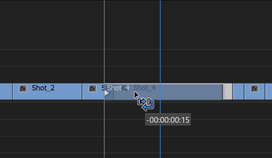 Modificare l'ordine delle clip in una sequenza (swap)