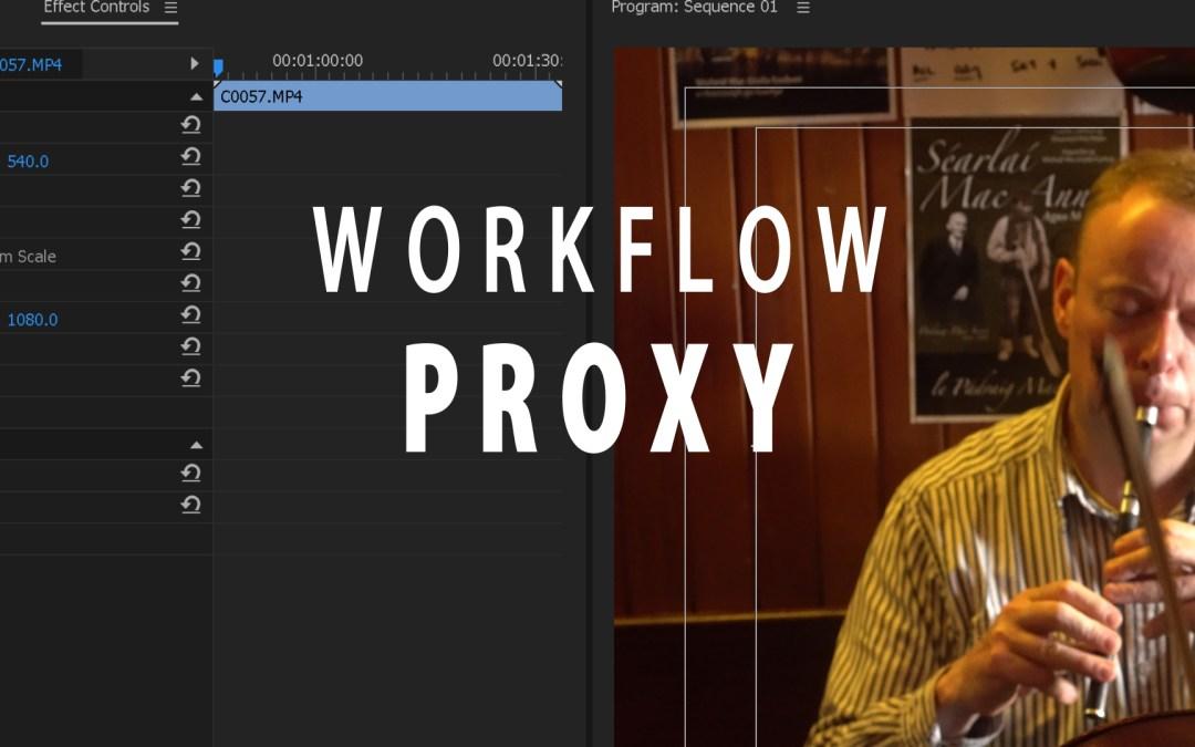 Il flusso di lavoro Proxy