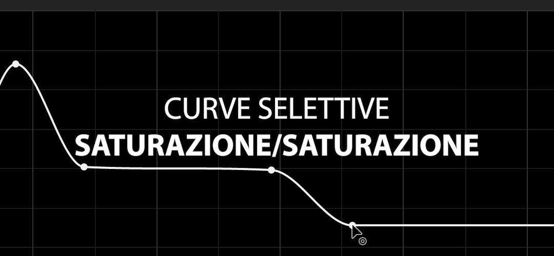 Curva selettiva Saturazione/Saturazione (CC 2019)