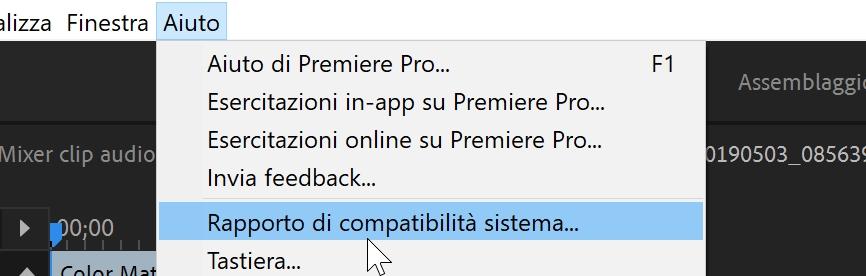 Il tuo sistema è <b>compatibile</b> con Premiere Pro CC?
