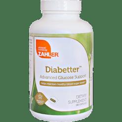 Advanced Nutrition by Zahler Diabetter 180 caps Z81072