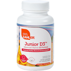 Advanced Nutrition by Zahler Junior D3 120 tabs Z81171