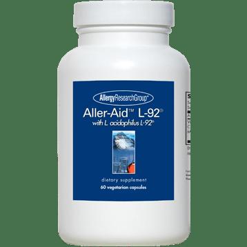Allergy Research Group Aller Aid L 92 60 vegcaps A69109