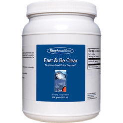 Allergy Research Group Fast amp Be Clear 900 gms FAST