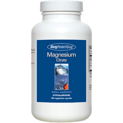 Allergy Research Group Magnesium Citrate 180 vcaps AR660