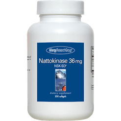 Allergy Research Group Nattokinase 36 mg 300 softgels NATT3