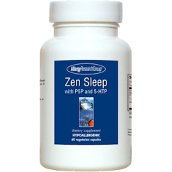 Allergy Research Group Zen Sleep with P5P and 5 HTP 60 vegcaps A73608