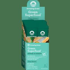 Amazing Grass Detox amp Digest Green SF Box 15 packs A04775
