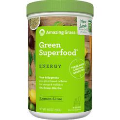 Amazing Grass Green SuperFood Energy 14.8 oz A01118