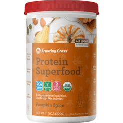 Amazing Grass Protein Superfood Pumpkin Sp 10 servings A07011