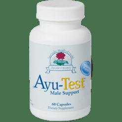 Ayush Herbs Ayu Test Male Support 60 vegcaps AY132