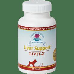 Ayush Herbs Liver Support Livit 2 Vet 90 tabs AYV6