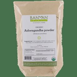 Banyan Botanicals Ashwagandha Certified Organic 1 lb ASH10