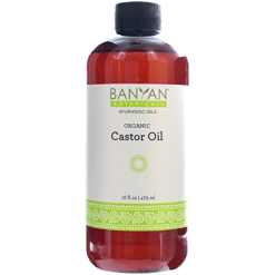 Banyan Botanicals Castor Oil Organic 16 oz BY3016