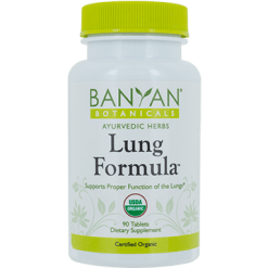 Banyan Botanicals Lung Formula 500 mg 90 tabs LUNG4
