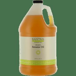 Banyan Botanicals Sesame Oil Organic 128 fl oz SESA3