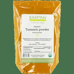 Banyan Botanicals Turmeric Root Powder Organic 1 lb TUR12