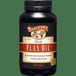 Barleans Flax Oil 1000 mg 250 gels FLA44