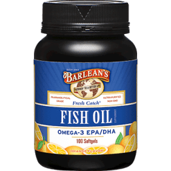 Barleans Fresh Catch Fish Oil 1000 mg 100 gels FISH8