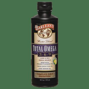 Barleans Total Omega 3 6 9 Lemonade 16 oz TOT21