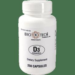 Bio Tech D3 1000 IU 250 caps VID7
