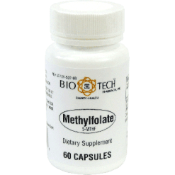 Bio Tech Methylfolate 5 MTHF 60 Caps B502A
