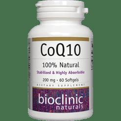 Bioclinic Naturals CoQ10 200 mg 60 gels BC9311
