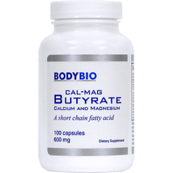 BodyBio E Lyte Cal Mag Butyrate 600 mg 100 caps BUTY5
