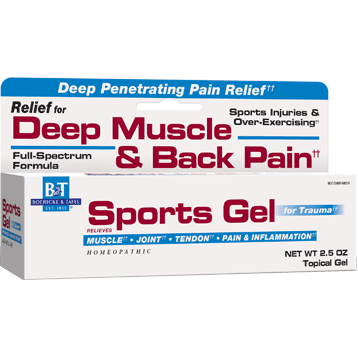 Boericke amp Tafel Sports Gel 2.5 oz SPOR3