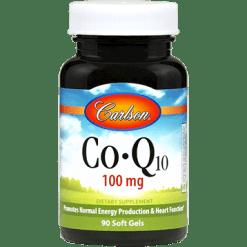 Carlson Labs CoQ10 100 mg 90 gels CO100
