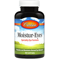 Carlson Labs Moistur Eyes 90 gels MOIST