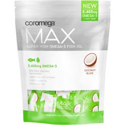 Coromega Max Super High Omega 3 Coconut 60 shots C55271