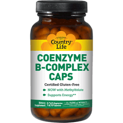 Country Life Coenzyme B Complex 120 vegetarian capsules C64190