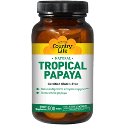Country Life Tropical Papaya 500 wafers C53842