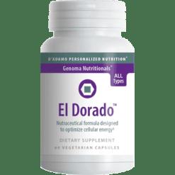 DAdamo Personalized Nutrition El Dorado 60 vegetarian capsules NP075