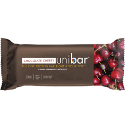 DAdamo Personalized Nutrition Uni Bar Chocolate Cherry 12 Bars D85454