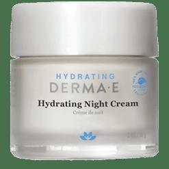 DERMA E Natural Bodycare Hydrating Night Crème 2 fl oz D04663
