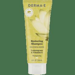 DERMA E Natural Bodycare Volume Shine Restoring Shampoo 8 fl oz D63158