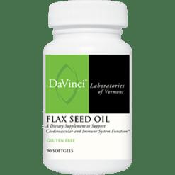 DaVinci Labs Flax Seed Oil 90 caps FLA46