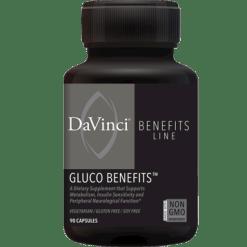 DaVinci Labs Gluco Benefits 90 capsules DV5489