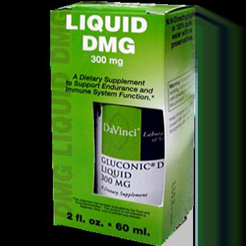 DaVinci Labs Gluconic® DMG Liquid 300 mg 2 oz GL190